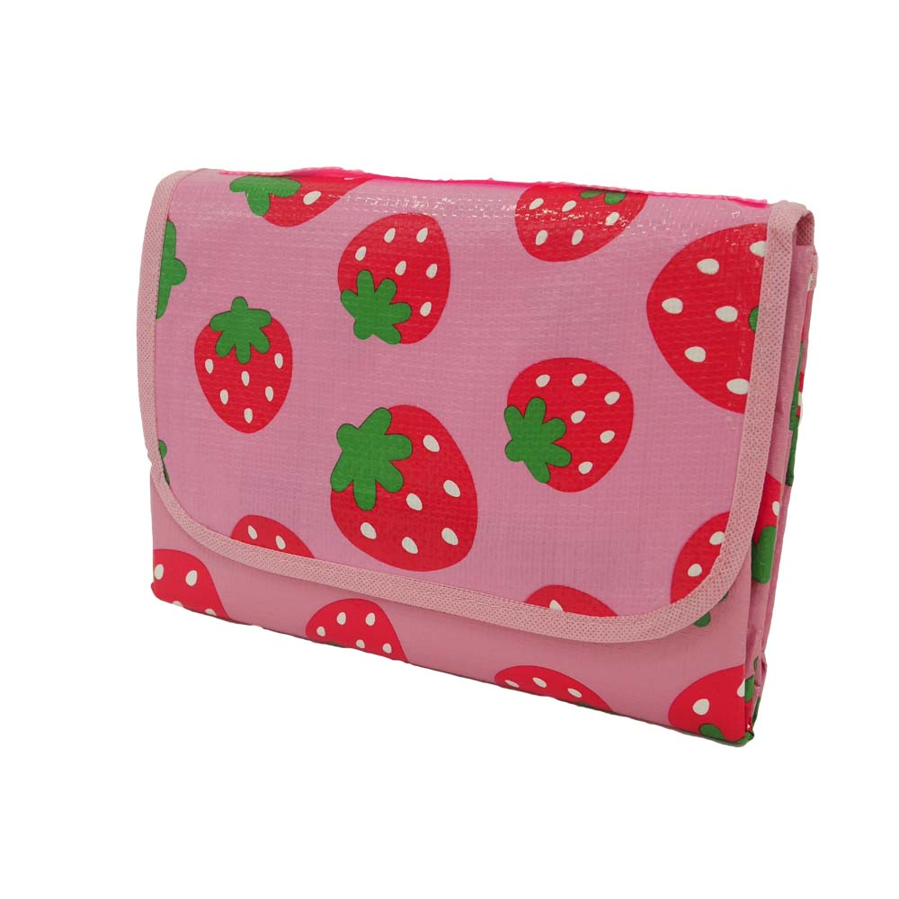 Buy strawberries waterproof picnic rug online bask for Au maison picnic blanket