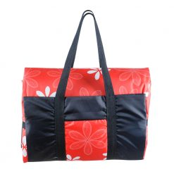 Red Picnic Rug in a Black and Red Extra Large Bag