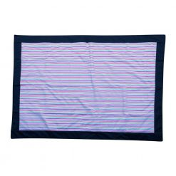 Picnic Rug with Colorful Stripes